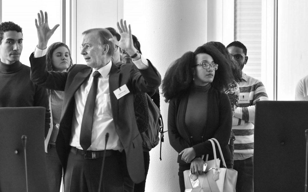 Stichting WeConnect: 'Caribische jongeren bezoeken Den Haag'