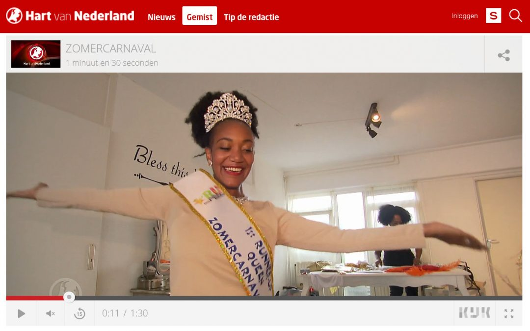 Hart van Nederland | 'Zomercarnaval staat op de Nationale inventaris!'